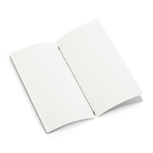 Levně 3 čtverečkované náhradní bločky (malý zápisník)