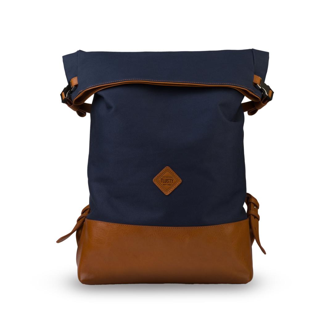 Levně Městský batoh - Canvas - modrý