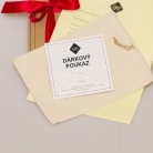 printed gift voucher (paper)