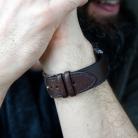 watch strap on hand - brown blue.jpg