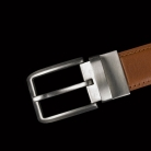 Buckle No.12. Brushed stainless steel