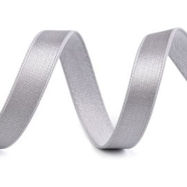 Grey Satin Elastic