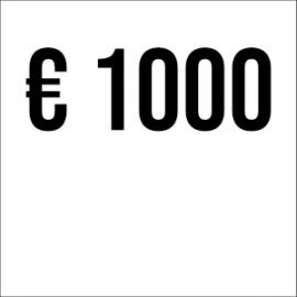 € 1000